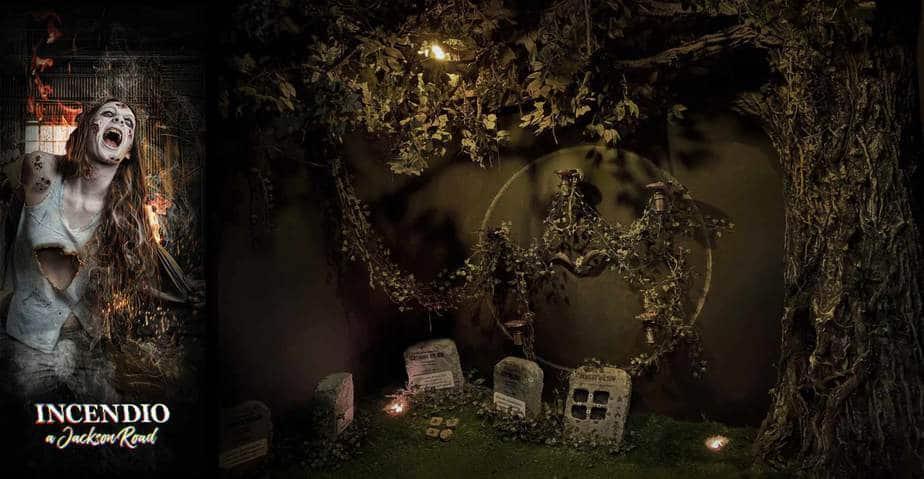 giardino horror scenografia escape room