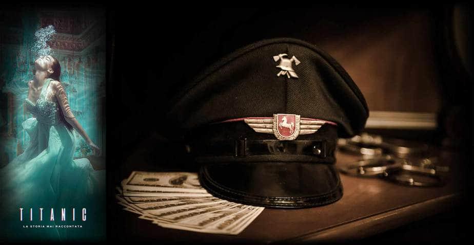cappello nazista scenografia escape room