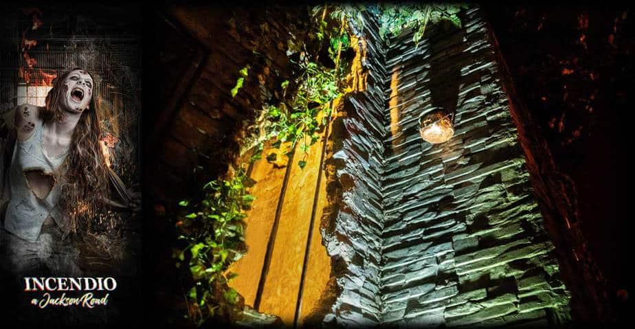 muro spaccato scenografia escape room